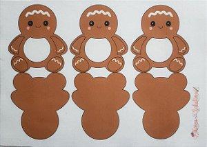 Pingente porta doce Gingerbread Clássico