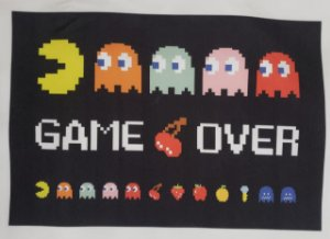 Pac Man- Game Over