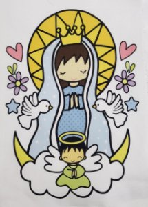 Virgencita Azul