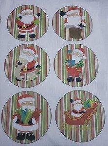 Bolinhas de Natal Papai Noel