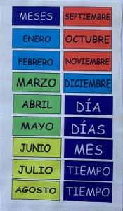 Calendário Montessoriano Espanhol