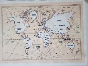 Mapa Envelhecido