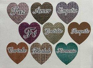 Coração colorido 11