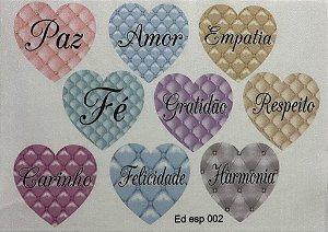 Coração colorido 15