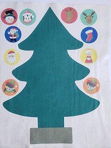 Pinheiro de Natal interativo - modelo 1