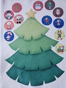 Pinheiro de Natal interativo - modelo 2