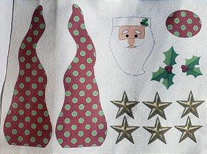 Papai Noel enfeite de mesa 10