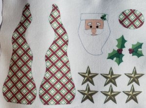 Papai Noel enfeite de mesa 3