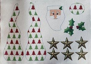 Papai Noel enfeite de mesa 4