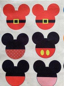 Pingentes Mickey e Minnie