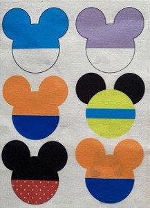 Pingentes Mickey e Minnie e sua Turma