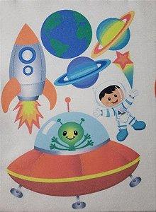 Kit para Móbile Astronauta Menino Cabelo Escuro