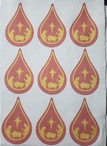 Gotinha Sagrada Família Vermelha