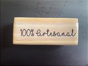 Carimbo 100% Artesanal 7x3
