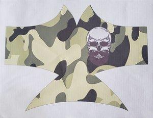 Máscara de Proteção Caveira camuflada