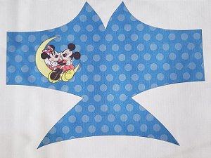 Máscara de Proteção Mickey e Minnie azul