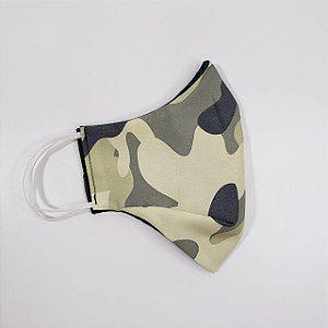 Máscara de Proteção Camuflada