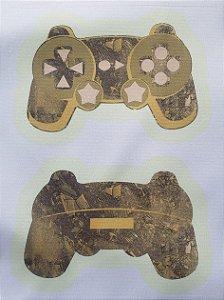 Estojo Joystick/ controle de vídeo game Amarelo
