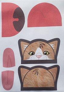 Porta moeda gatinho  Caramelo