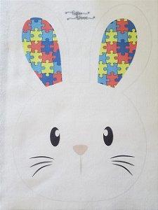 Cestinha de Páscoa coelho autismo