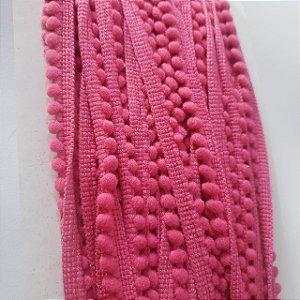 FIta pompom 6mm mini Pink