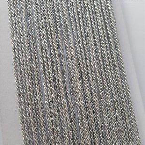 Cordão de São Francisco 2mm Prata