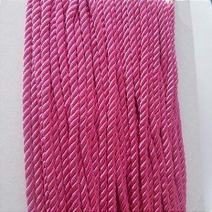 Cordão de São Francisco 5mm Pink