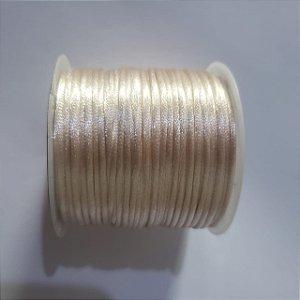 Cordão Cetim   1mm bege