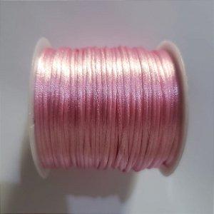 Cordão Cetim  1mm Pink