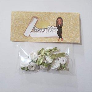 Flor de Rococó Branco