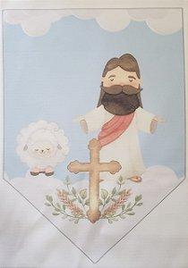 Flamula Páscoa Religiosa Cordeiro