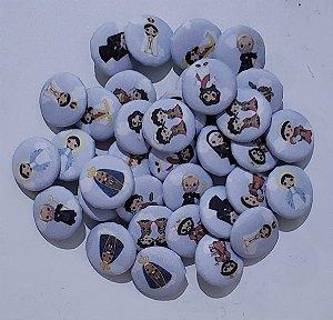 Botões Santinhos 11 unidades