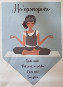 Flamula Ho' oponopono meditação 4