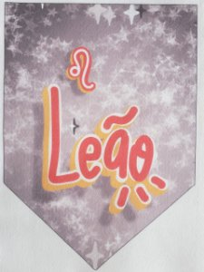 Flamula Signo Leão