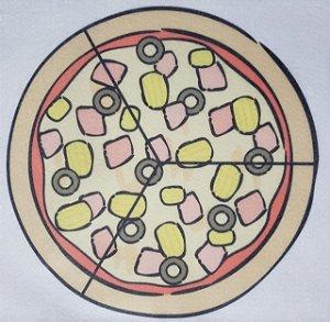 Livro Didático - Pizza fração 3