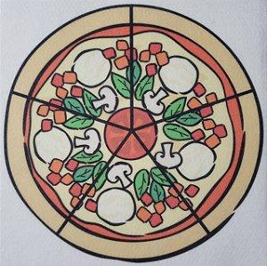 Livro Didático - Pizza fração 5