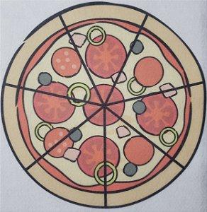 Livro Didático - Pizza fração 7