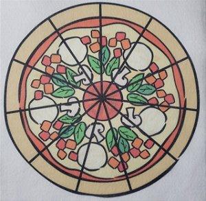 Livro Didático - Pizza fração 11