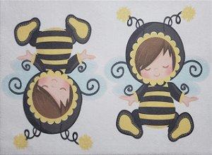 Estampa para guirlanda, Porta Retrato ou abelhinha 3