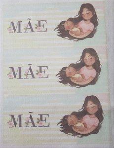 Capa para Caneca Mãe 2 aquarela