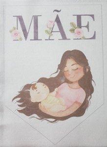 Flamula Dia das mães aquarela 4