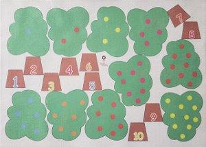 Pagina do livro árvore de 1 a 10