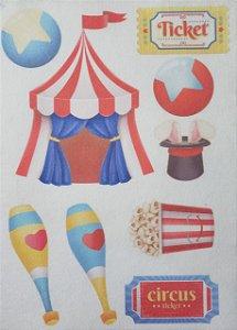 Kit Móbile Circo cenário
