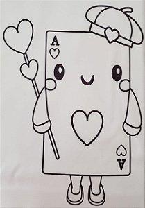 Alice para colorir 4