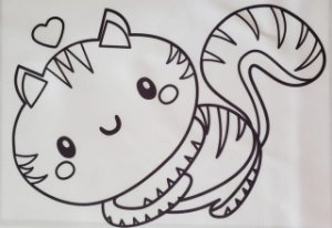 Alice para colorir 5