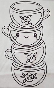 Alice para colorir 3