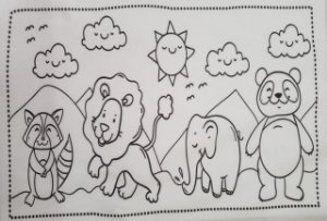 Atividades para colorir 8
