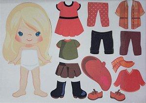 Menina de vestir cute 2