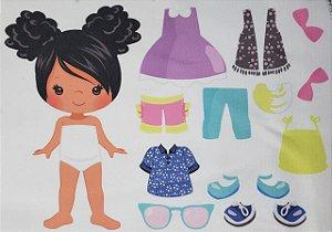 Menina de vestir cute 6