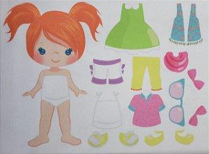 Menina de vestir cute 10